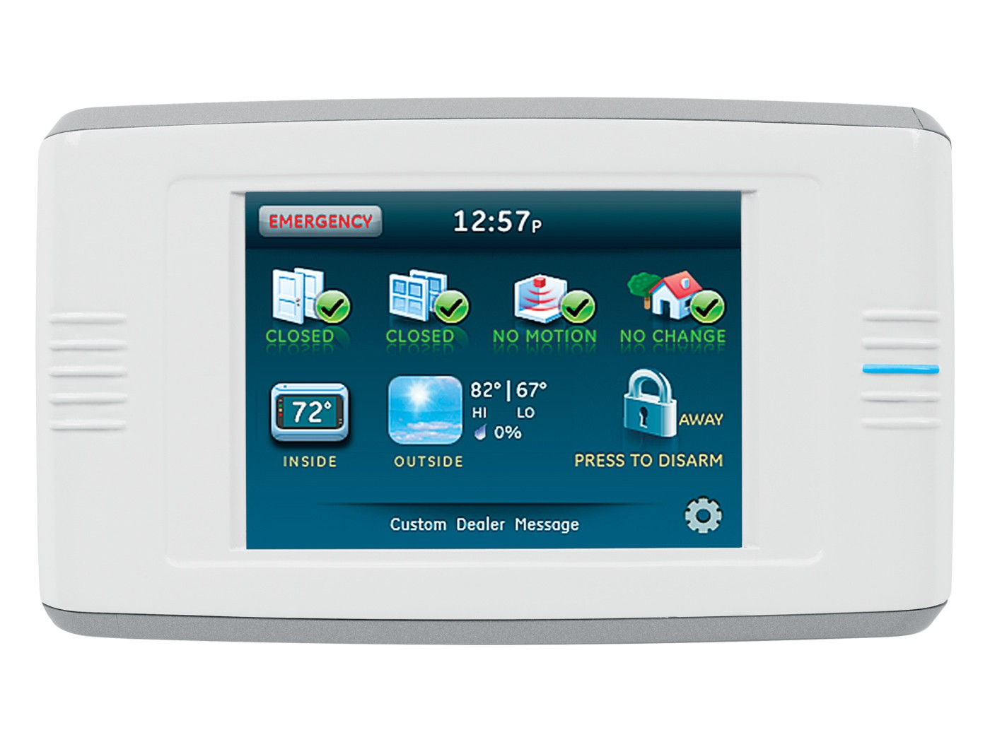 Simon Xt Two Way Talking Touch Screen Intrusion