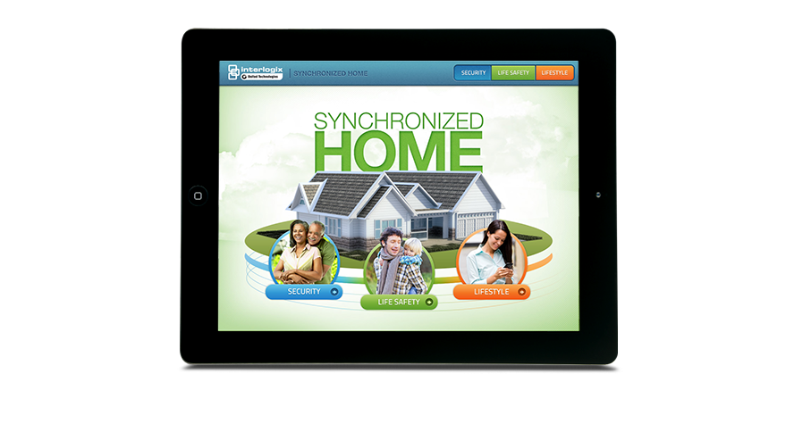 Synchronized Home iBook on an iPad