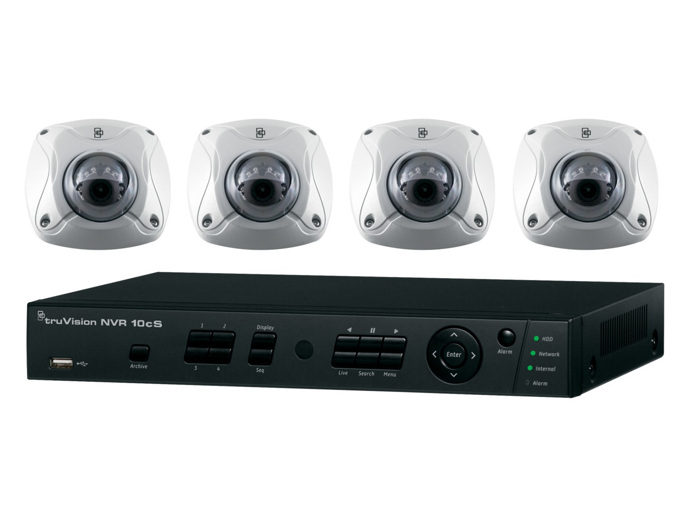Truvision Nvr 10 And Megapixel Camera Kits Video